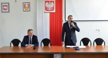 Spotkanie Starosty z włodarzami gmin Powiatu Radzyńskiego