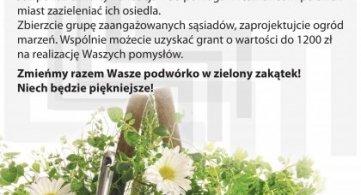 Zielona ławeczka - edycja 2018