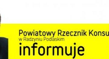 Powiatowy Rzecznik Konsumentów przeciw nieuczciwym praktykom rynkowym