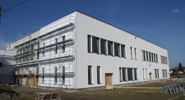 Aktualności z budowy warsztatów przy ZSP
