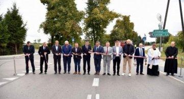 Droga powiatowa Gąsiory – Powiat Łukowski - uroczyście otwarta!