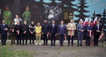 Mural na budynku katowni Gestapo / UB odsłonięty!