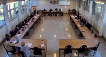 XXXVIII Sesja Rady Powiatu Radzyńskiego - 5.10.2021