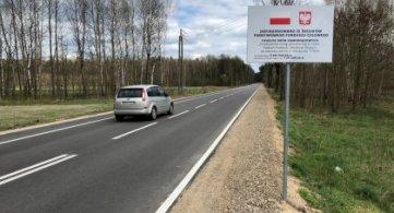 Przebudowa drogi Radzyń Podlaski – Zbulitów – Wohyń została zrealizowana!