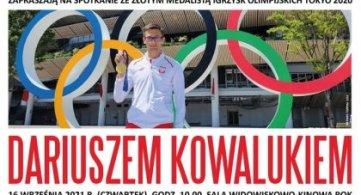 Przyjdź na spotkanie z Dariuszem Kowalukiem, olimpijczykiem!