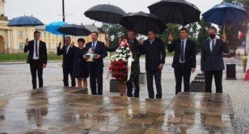 Radzyńscy samorządowcy oddali hołd ofiarom II Wojny Światowej