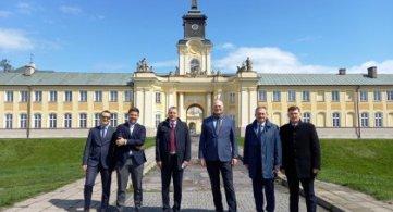 Wizyta ambasadora Szwajcarii w Radzyniu