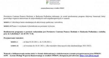 """Program """"Aktywny Samorząd"""" uruchomiony!"""