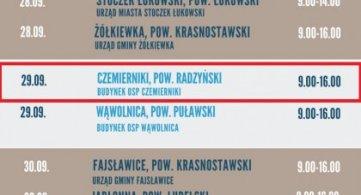 Szczepieniobus w Powiecie Radzyńskim
