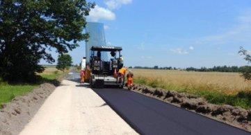Rozpoczęto remont drogi powiatowej w Stójce